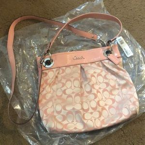 Light Pink Coach Crossbody